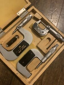 Eastern Tool Supply Machinist Square And Micrometer Set