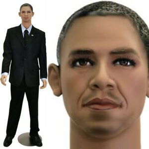 President Barack Obama Mannequin Black African American Male Life Size Realistic