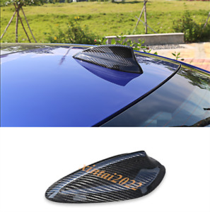 Real Carbon Fiber Roof Shark Fin Antenna Cover Trim For Bmw 3 Series G20 2019