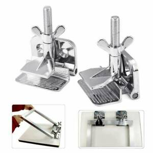2pcs Butterfly Frame Hinge Clamp diy Tool Silk Screen Printing Hobby Printer Us