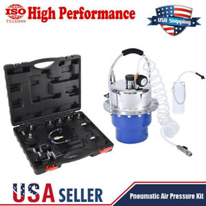 10 40 Psi Pneumatic Air Pressure Kit Brake And Clutch Bleeder Valve System Kit