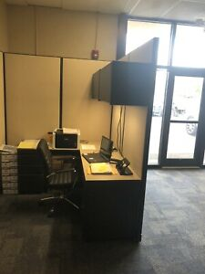 Safety For Your Employees 7 Foot Tall Office Cubicle Panels For Sale