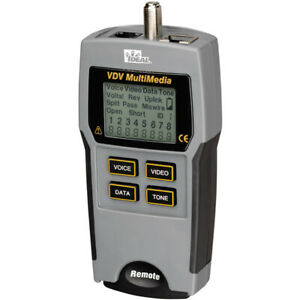 Ideal 33 856 Multimedia Voice Data And Video Tester 33856