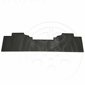 Chevy Gmc Cadillac Gm 2007 2014 Rear All Weather Floor Mat Black 12499642