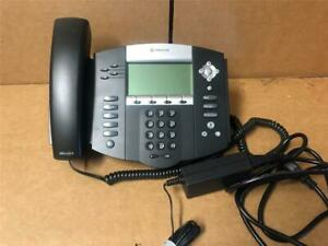 Polycom Soundpoint Ip550 Digital Business Telephone With Ac Adapter