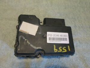 2001 03 Ford Windstar Abs Control Module W O Traction Control 2f22 2c346 Ab