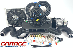 A C Kit Universal Underdash Evaporator 404 200 Heat Cool H C With Elec Harness