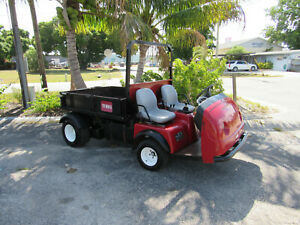 Toro Workman 3200 With Dump Body Utility Vehicle Off Road Model 07361 Hyflo Hyd