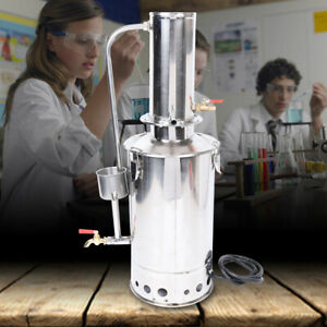 Lab Instrument Heated Distilling Portable Water Distiller Water Filter Automatic
