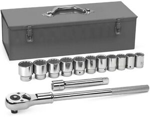 Gearwrench 80879 13 Piece 3 4 Drive 12 Point Standard Sae Mechanics Tool Set
