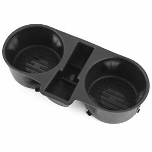 Front Center Console Floor Cup Holder Insert Fits Ford F 150 Fold Down 2015 20