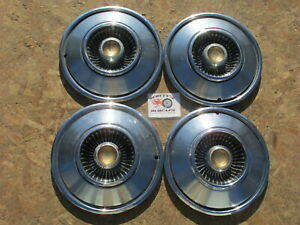 1965 Chrysler New Yorker 14 Wheel Covers Hubcaps Set Of 4