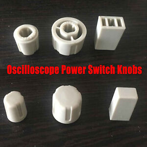 Oscilloscope Power Switch Knobs Cover Kits For Tektronix Tds210 Tds220 Tds1012