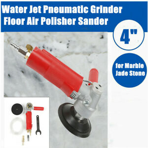 4 Variable Speed Concrete Cement Wet Polisher Grinder Pad Travertine Polishing