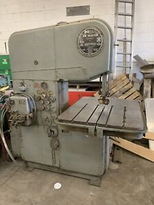 Doall Vertical Band Saw 16 Dbw 5 Priced To Move New York