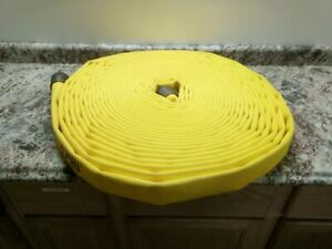 Jafline G51h15lny100n 1 1 2 In Inside Dia 100 Ft L Yellow Attack Line Fire Hose