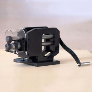 Hand Leather Embossing Press Machine Rubber Belt Stamping Craft Tool