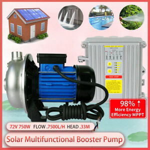 Dc General Purpose Centrifugal Water Pump Self priming Irrigation controller