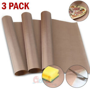 3 Teflon Transfer Sheets For Heat Press Non Stick Iron Resistant Reusable Craft
