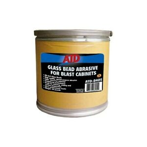 Atd 80 Grit Glass Bead Abrasive For Blast Cabinets