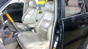05 07 Lexus Gx470 Ivory Leather Heated Seat Front Rear Oem Used