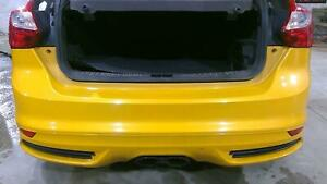 12 14 Ford Focus St Rear Bumper Assembly electric Gold Lp Oem