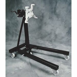 Omega Automotive Geared Engine Stand 1250 lb Holding Capacity Model 31256