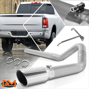 For 10 12 Ram Truck 2500 3500 6 7l Diesel Turbo 5 Tip Muffler Catback Exhaust