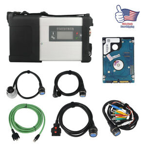 Car Mb Star C5 Sd Connect Compact 5 Multiplexer Diagnostic Tool Wifi Software