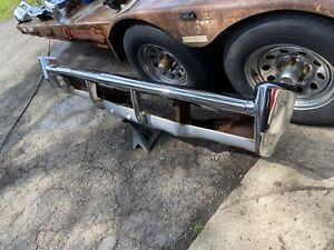 1968 Chevy Impala Front Bumper Assembly Straight