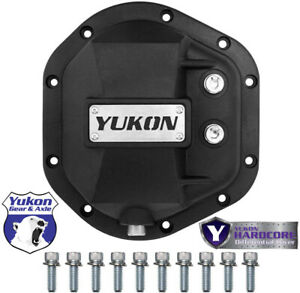 New Dana 44 Yukon Hardcore Iron Differential Cover D44 Front Or Rear Yhcc d44