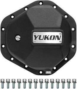 New Gm 10 5 14 bolt Yukon Hardcore Iron Differential Cover 14t Yhcc gm14t m