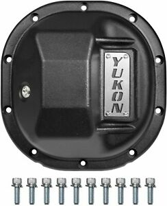 New Ford 8 8 Yukon Hardcore Iron Differential Cover Yhcc f88