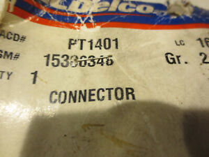 Pt1401 Ac Delco Body Wiring Harness Connector Street Rod Chevy Avalanche S10