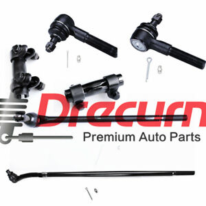 6PC Outer Inner Tie Rod Ends Steering Kit For Ford F-250 F-350 RWD $83.97
