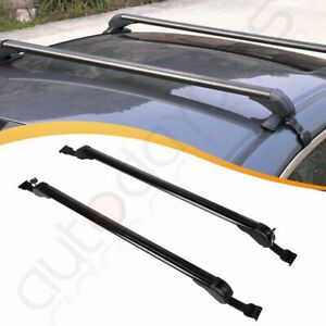 2x Top Roof Rack For 43 3 Universal Car Cross Bars Carrier Cargo Storage Usa