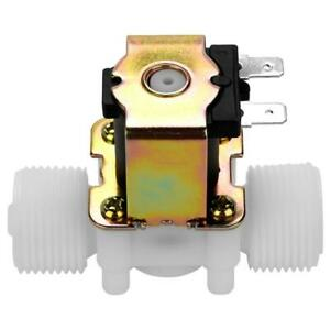 12v G3 4 Plastic Electromagnetic Valve Normally Closed Water Inlet Flowswitch