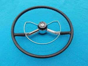 New 1950 1951 1952 Chevrolet Chevy Butterfly Steering Wheel Deluxe Style Black