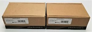 Lot Of 2 Plantronics Apc 43 Electronic Hook Switch Ehs Cables