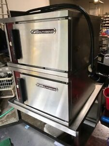 Southbend Double Steamer Electric 240v 2 Single Units And Included Table