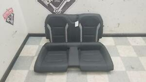 2016 2018 Chevrolet Camaro Ss Coupe Oem Rear Back Seat Seats Leather Black