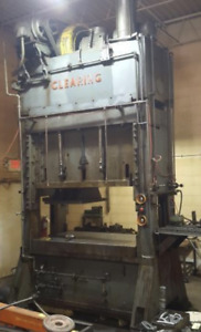 200 Ton Clearing S2 200 72 36 Straight Side Stamping Press ybm 12979
