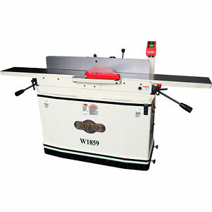 Shop Fox 8in X 76in Parallelogram Jointer With Mobile Base Model W1859