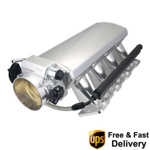 102mm Aluminum Intake Manifold For Ls1 Ls2 Ls6 Engine With Throttle Body Tps Iac