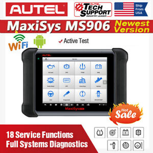 Autel Maxisys Ms906 Obd2 Diagnostic Scanner Scan Tablet All Systems Active Test