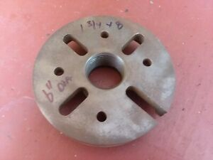 Metal Lathe 6 Inch Drive Dog Face Plate 1 3 4 8 South Bend Southbend