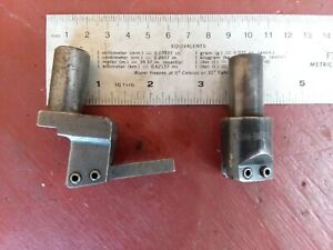 2 Harding Milling Fly Cutter No 1 4 Turret Tool Mill Drill Jig Boring Tooling