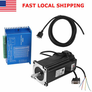 Closed Loop Stepper Motor Nema34 12n m Hybrid Servo Driver Hss86h Kits 0 3000rpm