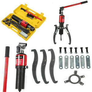 3 In 1 Hydraulic Gear Puller Pumps Oil Tube 3 Jaws Drawing Machine 10 Ton New