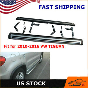 Running Board Foot Side Step Nerf Bar Oe Style Aluminum For 2010 2016 Vw Tiguan